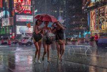 Осень  дождик