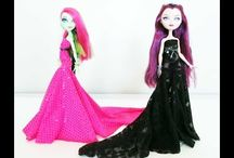 Barbie... / I have always loved fixing Barbie doll's hair, and making dresses for them.. I am what I like to refer myself to as: Barbie's Hairstylist, and Fashion Designer... It's like playing with dolls all over again, but at a different level...