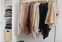 Declutter wardrobe