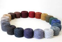 flyWHEEL: Sport Weight Yarn / Meet our newest sport weight yarn, flyWHEEL. We developed a lighter version of our WATERshed yarn (worsted) and added 4 new rich and rustic tweedy colors.
