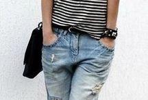Outfits - Boyfriend jeans