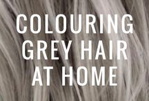 How To Colour Grey Hair / Learn how to master the art of Colouring Grey's through the right Colour and Product choices.