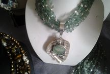 Sacred Pieces / Jewellery designed and created by Sandi Larkin.