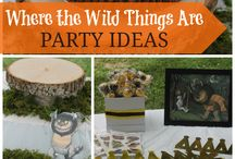 Wild Things Birthday