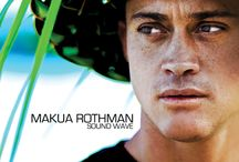 Makua Rothman / Surfer turned musician, Makua Rothman, just released his first full length album, SOUND WAVE! Available on iTunes! / by MOUNTAIN | APPLE co.