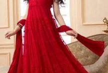 Dangling designs of Anarkali / Most beautiful designs of Anarkalis   Order Now - http://bit.ly/1TAVJyy