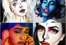 Pop Art Makeup inspiration