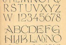Fonts vintage