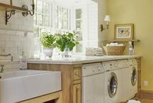 Laundry Rooms / by Torey