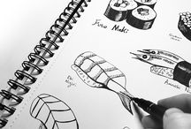 Sketchbook / Sketchbook work by Whittle Design Studio Ltd. http://www.whittledesignstudio.com