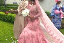Nigerian Wedding: Colored Wedding Gowns