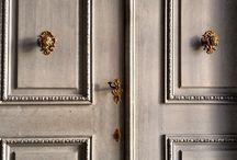 Doors, ceilings, walls, gates...