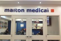 Malton Medical Centre Signage Project / Signage created by Burry Signs for the Malton Medical Centre