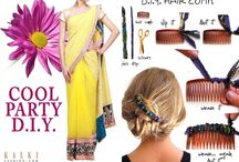 D.I.Y / Do it yourself! Create these accessories yourself which would go well with our apparels!