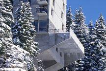 Architecture: Winter Concrete