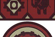 Crochet tapisery