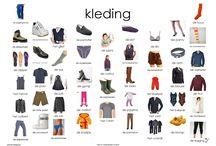 Onderwijs thema kleding