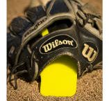 TWO-HANDS® FIELDING TRAINER / Learn to use your glove like the pros.  No more errors, bad footwork, sloppy fielding technique, slow hands, plays that should have been outs! If you like this you can purchase at woodbats4sale.com