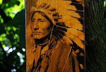 Fotografia na drewnie. / Moje prace na drewnie.
