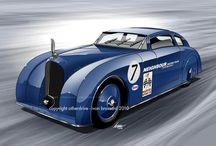 ivan Brossard (cars illustrations) / Automobile Art