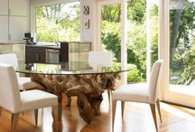 roots wood interior design ideas / Be inspired