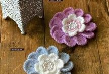 crochet flowers etc