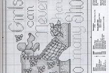 Punto de cruz - Cross stitch