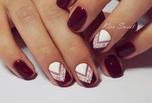 Bourdeux nails