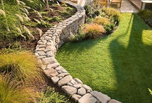 For the yard... Retaining wall / by Gayle Horsma
