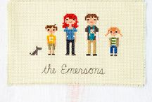 Cross-stitch  / I love cross-stitch!