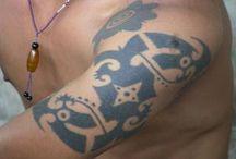 Borneo Tattoos / Amazing Borneo Tattoos across the web. / by Tracey Tova