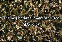 2015 National Awareness Tree Ribbons / 2015 National Awareness Tree Ribbons