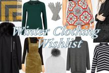 FASHION / A selection of Wishlists taken from my blog