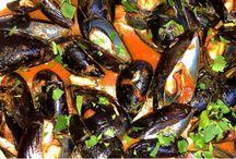 Cozze / Ricette con le cozze Recipes with mussels