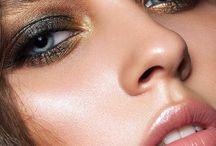9. Mystic moments perfume ad makeup/look