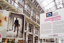 """GiuliaGiornaliste / Torino, la mostra di GiULiA alla Galleria Subalpina """"Chiamala violenza, non amore"""" dal 2 al 13 maggio, per la manifestazione Articolotr3"""