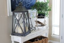 entry way / by Carrie Miller