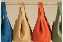 Soho Slouch Tote Bag Made in Suede