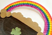 St Patrick's day crafternoon / by Tahya Neal