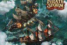 Piratestorm / onlinovka od společnosti Bigpoint