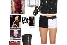 WWE clothing haul