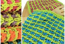crochet dishcloths & scrubbies