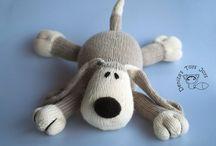 Knitting - Cuddly/Plushy toys and dolls