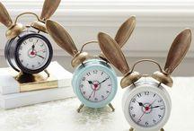 pretty clocks-sevimli saatler
