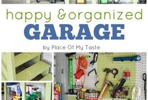 Garage and Basement Storage / Organizing storage for basements and garages. / by Annette @ This Simple Home