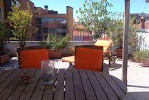 My Terrace / La mia terrazza sui tetti di Milano...