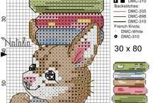 Cross stitch - bookmarks