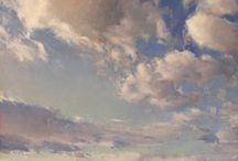 Landscape / clouds