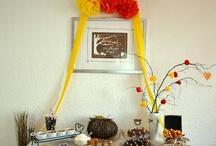 Thankful Thanksgiving dessert table