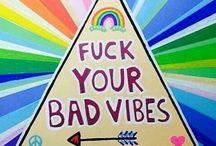 Spirituality and positive vibes